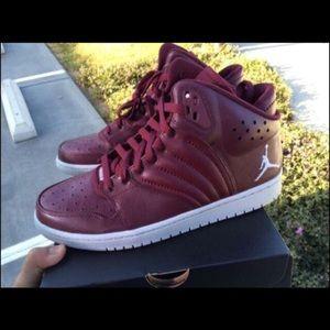 122ed3446b89ee Jordan Shoes - New Jordan 1 Flight 4 Burgundy HighTop